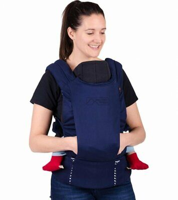 Mountain Buggy Juno Multi-functional Baby Carrier Nautical Blue JUNO-V1-37