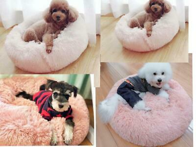Round Dog Bed Mats Winter Warming Washable Cat's House Breathable Lounger Sofa