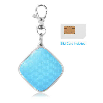 Mini GPS Tracker Real Time Tracking Device for Kid Pet, SIM Card Included PS126