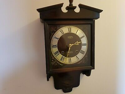 Wall Clock President Old No Key