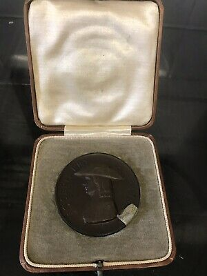 Joseph Fry & Sons Bicentenary Bronze Medal 1928 In The Original Antique Box