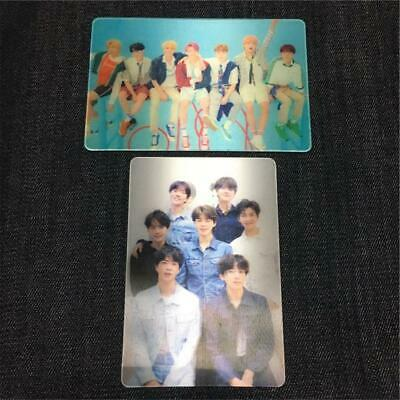 Set 2- BTS Love Yourself Tear & Answer - Special Lenticular Photocard - Official