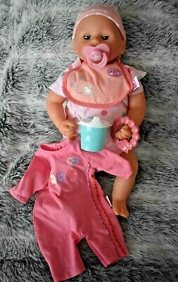 Baby Annabell Chloe Doll With Clothe & Accessories