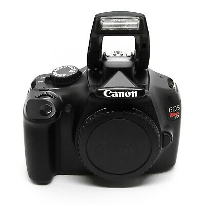 Canon EOS Rebel T3 12.2MP Digital SLR Camera - Black (Kit w/ EF-S 18-55mm Lense