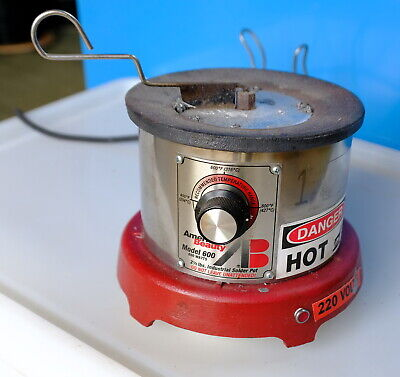 American Beauty Model 600 Solder Pot, Soldering, Electronic manufacturing