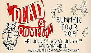 2 Tickets Dead and Company 7/5/19 at Folsom Field Stadium - 104 30