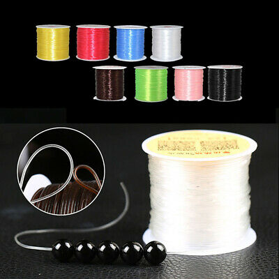 8 Roll Strong Elastic Stretchy Crystal Cord String Thread For Barcelet Chain