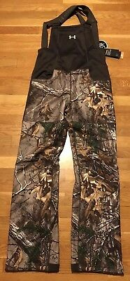 1d003a16ee20b Under Armour Womens Mid Season Hunting Bib Small Nwt 1282692-947 Scent  Control