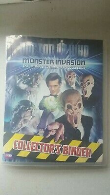 Dr Who Monster Invasion. The Ultimate Trading Card Collection. 165 Cards  + The