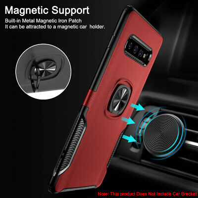 For Samsung A30 Case A50 A10 A80 A8 J4 Plus Magnetic Hybrid Rugged Rubber Cover