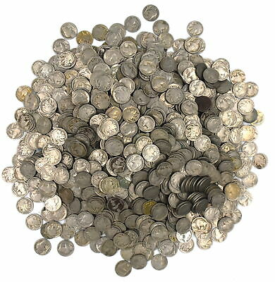 Dated Buffalo Nickles Indian Head Collectible Coins Lot Of 1135 Multiple Dates