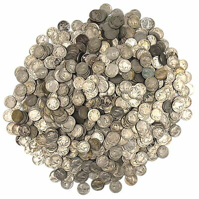 Dated Buffalo Nickles Indian Head Collectible Coins Lot Of 1000 Multiple Dates