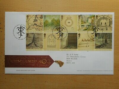 GB 2004 Lord of the Rings First Day Cover