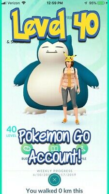 Pokemon Go Level 40 PTC Account | Hand Made | Choose your own team!