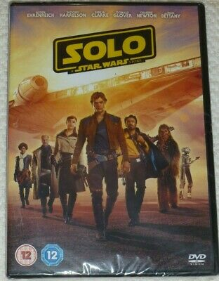 SOLO - A STAR WARS STORY - UK Released DVD NEW SEALED Han Chewbacca Ron Howard