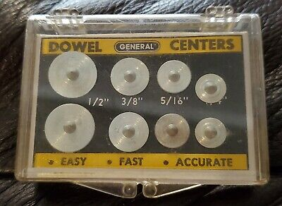 General Hardware Dowell Centers (1/4/-5/16-3/8-1/2) No 888