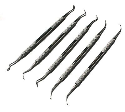 Wax & Modeling Carver PK Thomas Set of 5 Dental Lab Technician Carving Tools CE