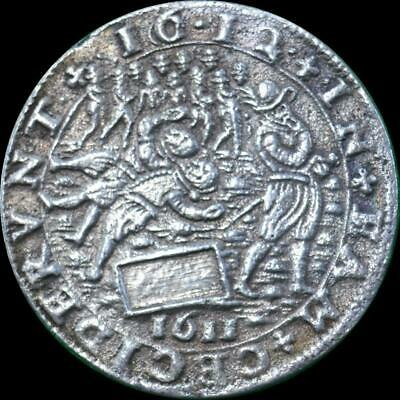 Netherlands, Utrecht - 1612 Unrest and riots in Utrecht silver Jeton Dugn. 3681