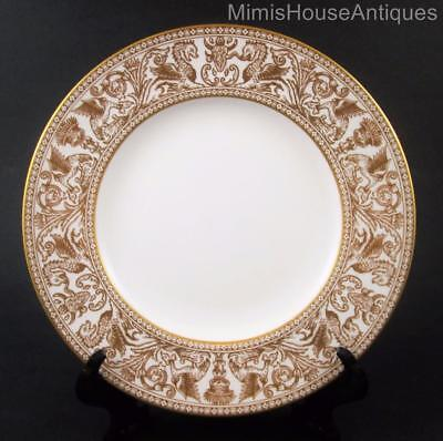 """8"""" SALAD Plate(s) - Wedgwood GOLD FLORENTINE #W4219 - Discontinued pattern"""