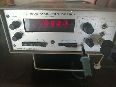 Malden Electronics Frequency Counter
