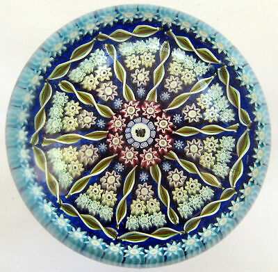 Large Perthshire PP109 Millefiori Butterfly Paperweight  / Briefbeschwerer