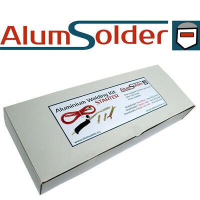 ALUMINIUM WELDING KIT - AlumSolder, Low temperature aluminium welding