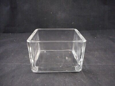 WHEATON Glass 20-Slide Rectangular Staining Dish Only 95 x 76 x 64mm 1/PACK