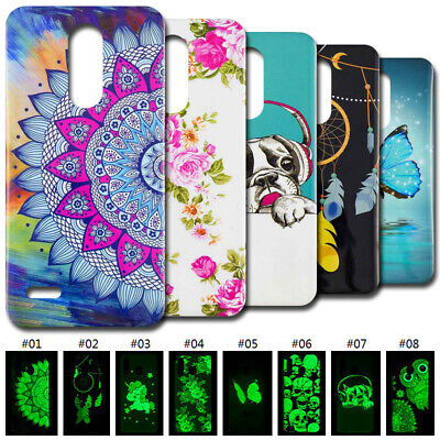 Gel TPU Skin Case Cover Luminous Back Soft Silicone For OnePlus 6 LG K8 K10 2018