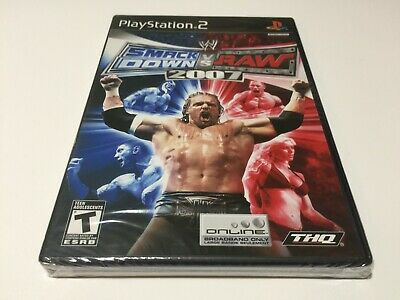 WWE Smack Down vs Raw 2017 - Playstation PS2 - Games Brand New