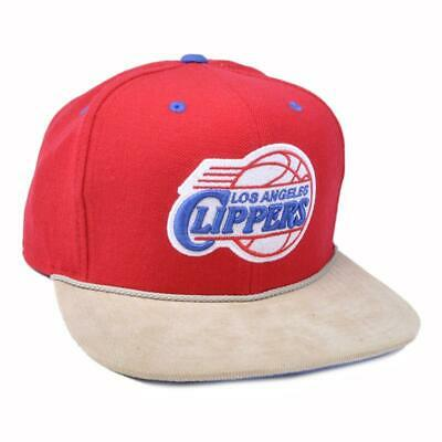 finest selection 36e0a a8dbc Los Angeles Clippers Fitted Hat NBA Headwear Mitchell   Ness Corduroy Retro  Cap