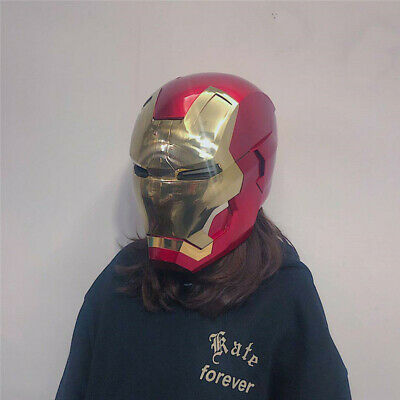 Iron Man MK7 Touch Induction Electric Helmet Adult 1:1 Wearable Mask Cosplay
