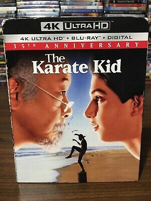 The Karate Kid (4K Ultra HD + Blu-ray + Digital, 2019) 35th Anniversary
