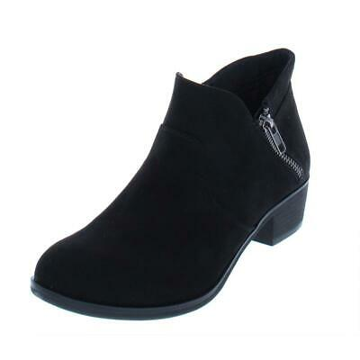 5c3605e28c2 AMERICAN RAG WOMENS Abby Solid Round Toe Double Zip Booties Shoes ...