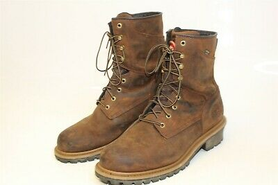 47aa48556ef RED WING SHOES Mens 12 D 46 Irish Setter Work Mesabi Leather Lace Up Boots  83829