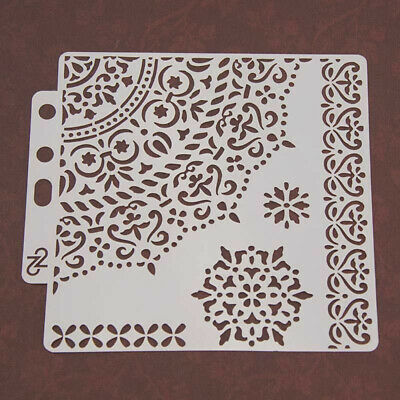 Wall Painting Stencils Template Scrapbooking Embossing Stamp Album Card Decor 1x
