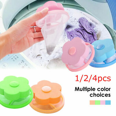 Laundry Filter Bag Floating Pet Lint Hair Catcher Washing Machine Mesh Pouch