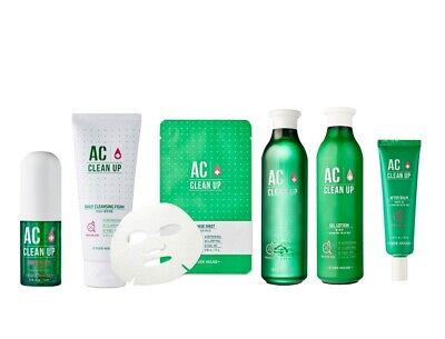 [ETUDE HOUSE] AC Clean Up Collection Green Line (7 Kinds)