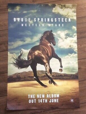 Bruce Springsteen Western Stars A2 Poster