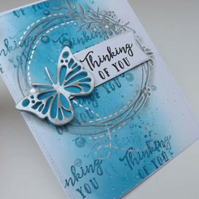 Butterfly Metal Cutting Die mold Scrapbooking Paper Card Embossing Craft FEH