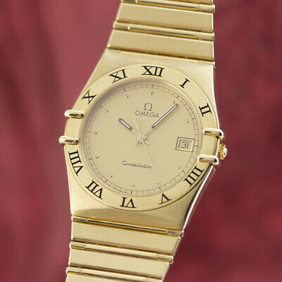 Omega Lady 18K (0,750) Gold Constellation Herrenuhr Ref. 11727500 VP: 26300,- €