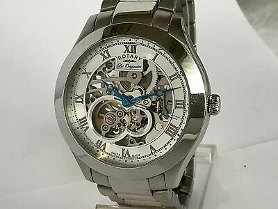 Rotary GB90514/21 'Les Originales Jura' Automatic Skeleton Watch Swiss R.1000.21