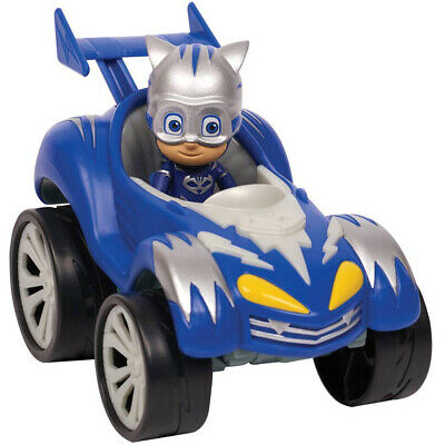 Super Pigiamini PJ Mask Auto Power Racer Gattoboy Mobile con Personaggio Snodato