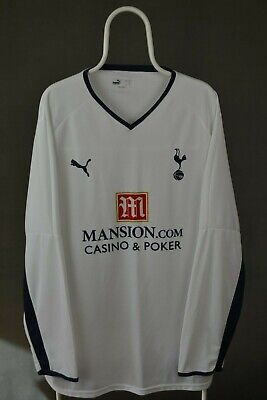 Tottenham Hotspur Spurs 2008/2009 Home Football Shirt Long Sleeve Puma Size 3Xl