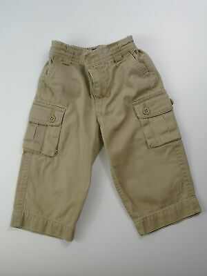 Boys Polo Ralph Lauren Beige Combat Chino Style Smart Trousers Size 18 Months