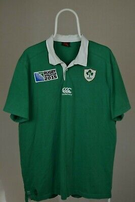 43e2d1acafc CLASSIC CANTERBURY IRELAND Rugby Union Shirt Mens Small - £4.99 ...