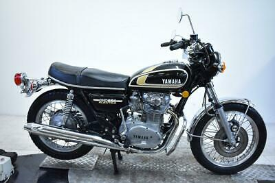 1975 Yamaha XS650 Unregistered US Import Running Classic Restoration Project
