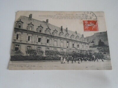 "Cp  Ancienne :  Sedan "" Chateau - Bas  Mess Des Officiers     De 1910"