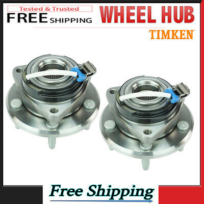 TIMKEN 2 FRONT Wheel Bearing Hub Assembly Fit Chevy Impala