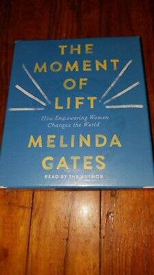 NEW The Moment Of Life Audio Book by Melinda Gates (2019 Audio)