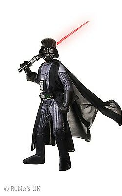 Childs Deluxe Darth Vader Star Wars Force Awakens Fancy Dress 3 - 10 Years